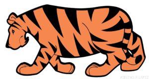 Tigre para imprimir