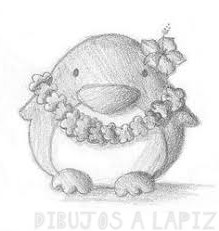 como dibujar un pinguino facil para niños