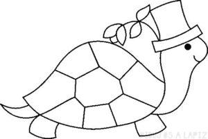 dibujos de tortugas para colorear