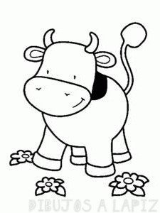 vaca para imprimir
