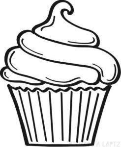 cake dibujo