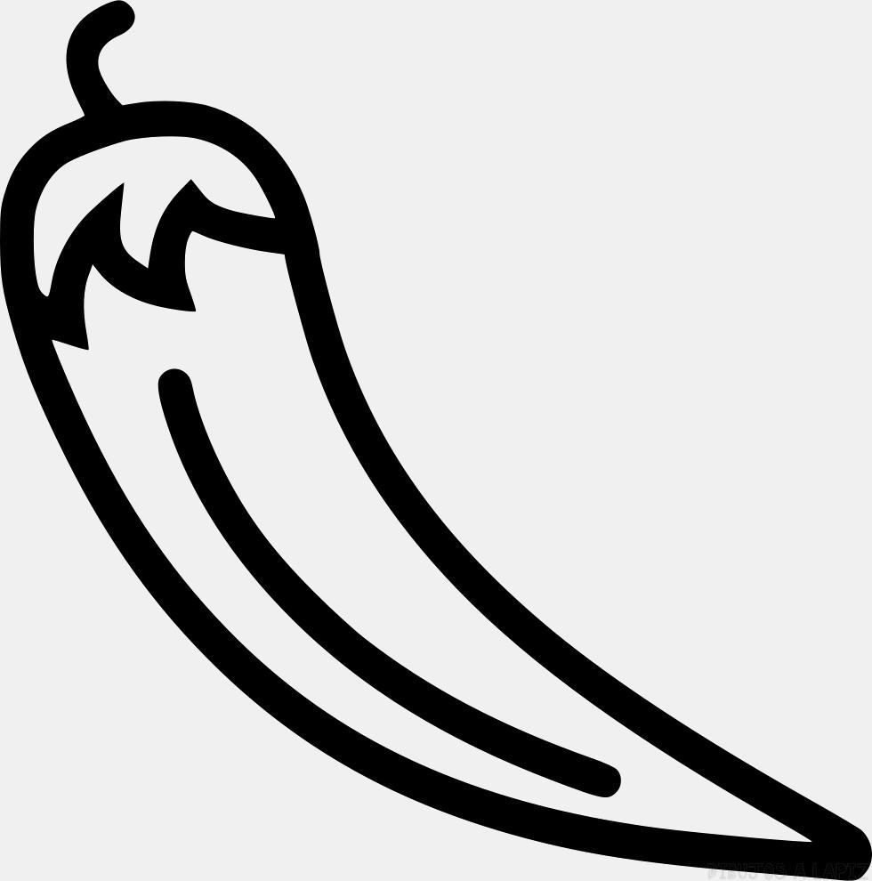 ᐈ Dibujos de Chiles【TOP】Picantes chiles a lápiz
