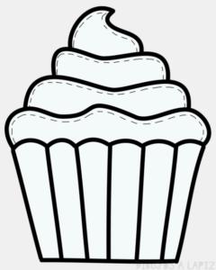 cupcakes caricatura