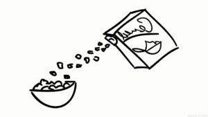 dibujar comida scaled