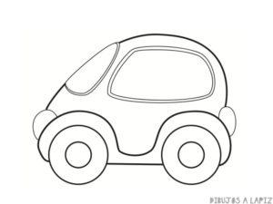 dibujos de autos faciles