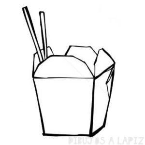 dibujos de comida mexicana