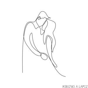 dibujos de enamorados