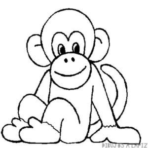 dibujos de monos animados