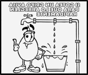dibujos del cuidado del agua