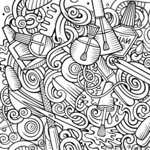 dibujos en uñas faciles