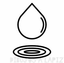 dibujos para imprimir del agua