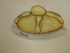 dibujo pan de muerto scaled