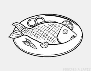 dibujos de platillos de comida
