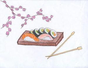 fotos de sushi japones scaled