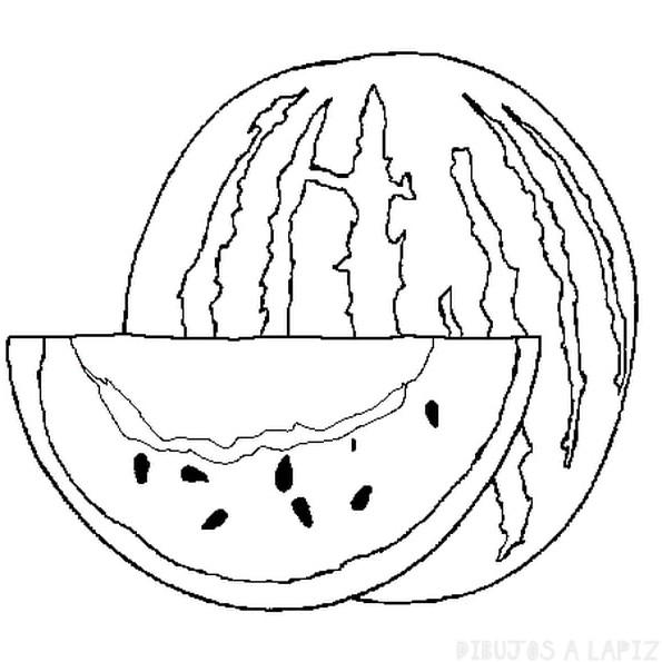imagenes de sandias en caricatura