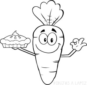imagenes de zanahorias para dibujar