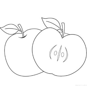 manzana dibujo animado scaled