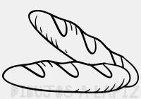 pan de muerto para colorear