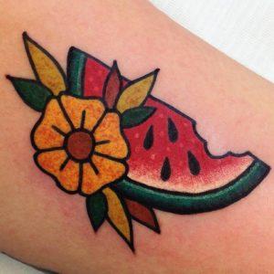 tatuajes de sandia