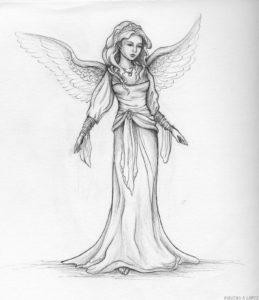 angeles para imprimir