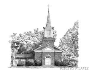 dibujos de iglesias a color