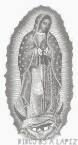 imagen de la virgen de guadalupe original