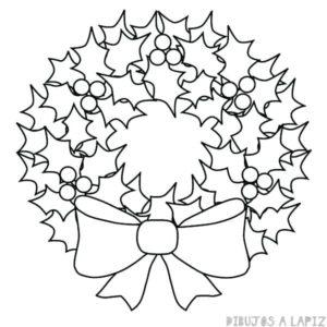 imagenes de corona de adviento para colorear