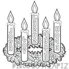 imagenes de coronas de adviento decoradas