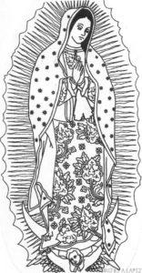 la virgen de guadalupe para niños