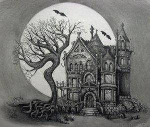 dibujos de castillos a color