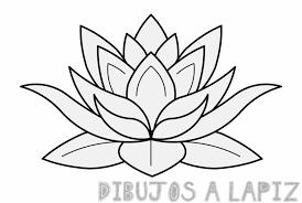 dibujos de flor de loto para tatuajes