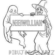 dibujos infantiles halloween