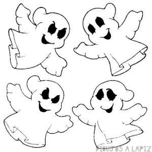 fantasma halloween dibujo