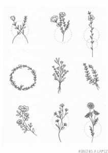flores sencillas