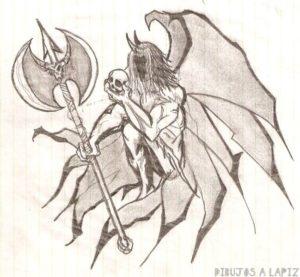 imagenes de demonios para dibujar