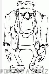 imagenes frankenstein caricatura