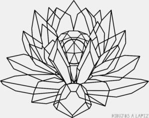 vinilo flor de loto