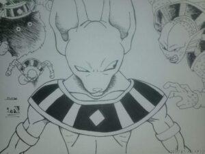 dibujos de bill dragon ball z